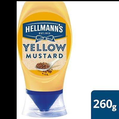 Hellmann's American Style Yellow mustard 260g