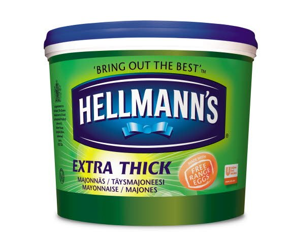 Hellmann's Extra Thick  Mayonnaise 5L