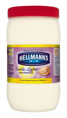 Hellmann's Garlic Light Mayonnaise 2L