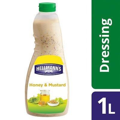 HELLMANN'S Honey & Mustard Dressing 1L