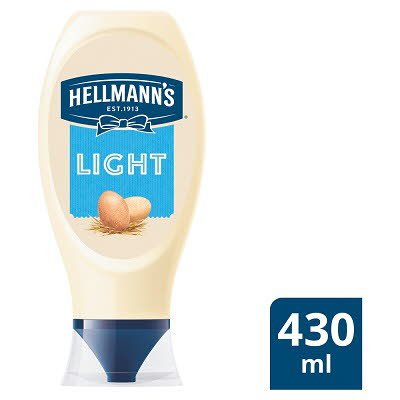 Hellmann's Light Squeezy Mayonnaise 430ml