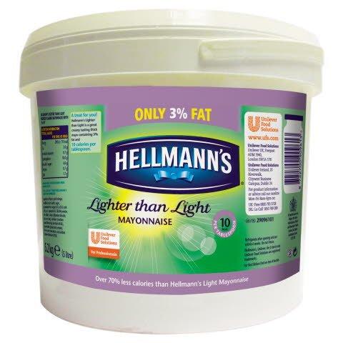 Hellmann's Lighter than Light Mayonnaise 5L