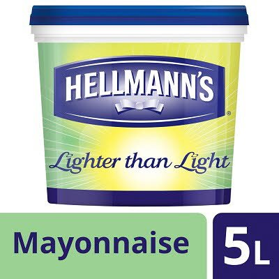 Hellmann's Lighter than Light Mayonnaise 5L -