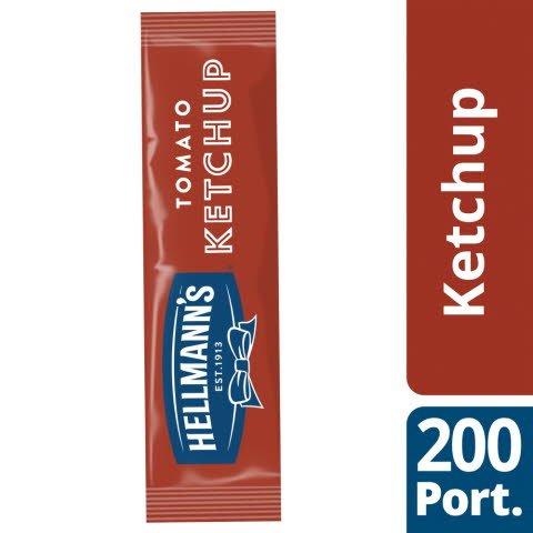Hellmann's Tomato Ketchup 200 x 15ml Portions
