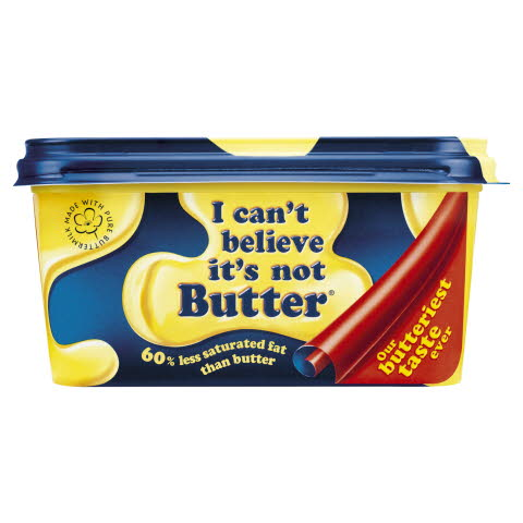 I CAN'T BELIEVE IT'S NOT BUTTER! 8x500g