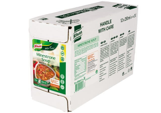 Knorr 100% Soup Minestrone 12 Portions