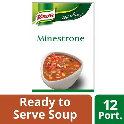 Knorr 100% Soup Minestrone 12 Portions -