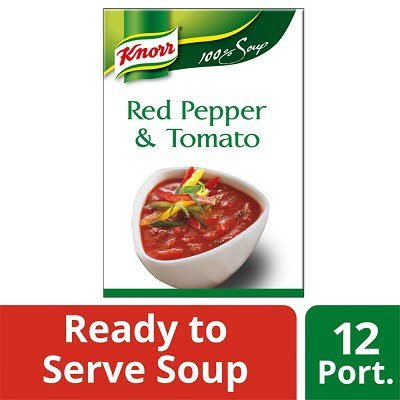 Knorr 100% Soup Red Pepper & Tomato 12 Portions -