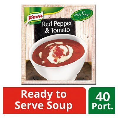 Knorr 100% Soup Red Pepper & Tomato 4 x 2.4L