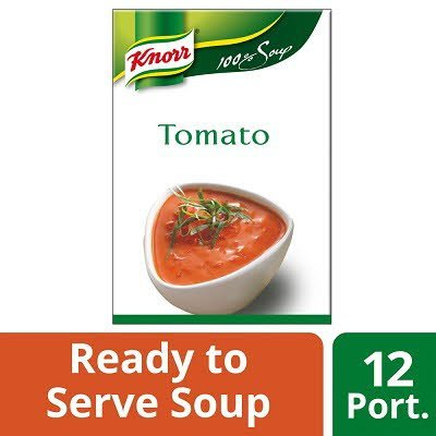 Knorr 100% Soup Tomato 12 Portions -