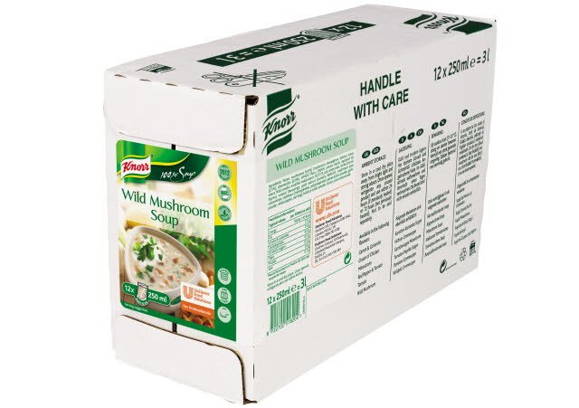 Knorr 100% Soup Wild Mushroom 12 Portions
