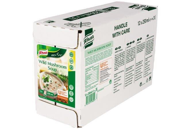 Knorr 100% Soup Wild Mushroom 12 Portions -