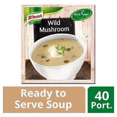 Knorr 100% Soup Wild Mushroom 4 x 2.4L