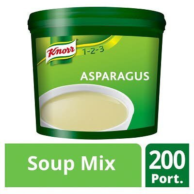Knorr 123 Asparagus Soup 200 portions