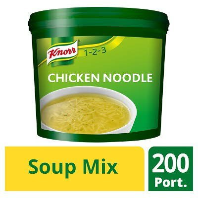 Knorr 123 Chicken Noodle Soup 200 portions