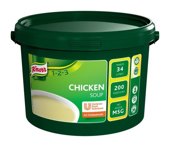 Knorr 123 Chicken Soup 200 portions