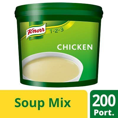 Knorr 123 Chicken Soup 200 portions  -