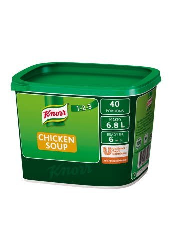 Knorr 123 Chicken Soup 40 portions