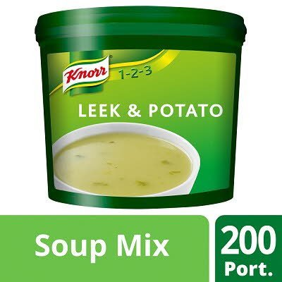 Knorr 123 Leek & Potato 200 portions -