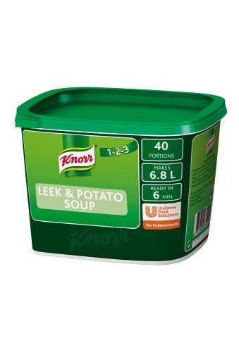 Knorr 123 Leek & Potato Soup 40 portions