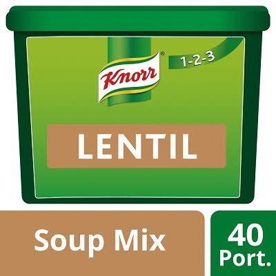 Knorr 123 Lentil Soup 40 portions