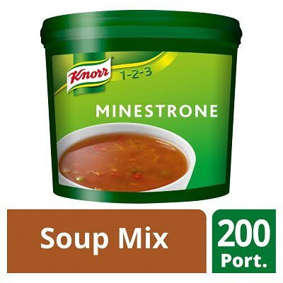 Knorr 123 Minestrone Soup 200 portions -