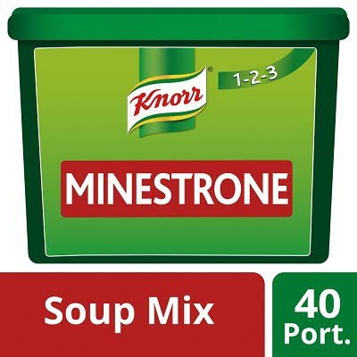 Knorr 123 Minestrone Soup 40 portions