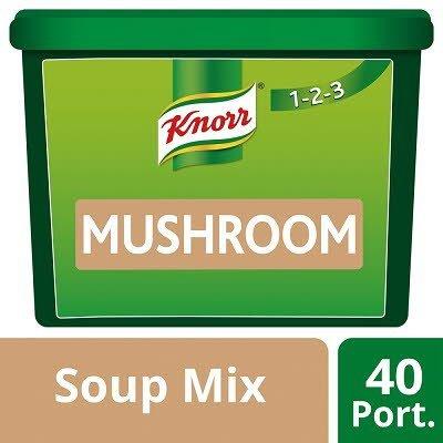 Knorr 123 Mushroom Soup 40 portions -