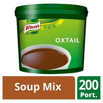 Knorr 123 Oxtail Soup 200 portions