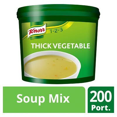 Knorr 123 Thick Vegetable Soup 200 portions