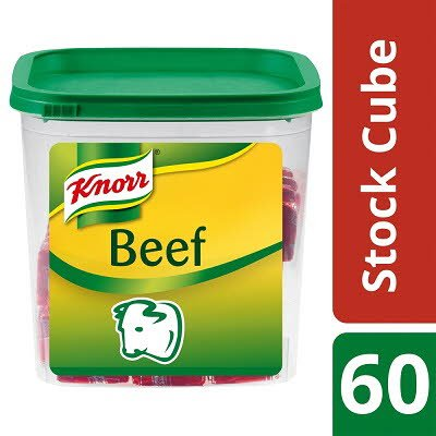 KNORR Beef Bouillon Cubes 60 x 450ml -