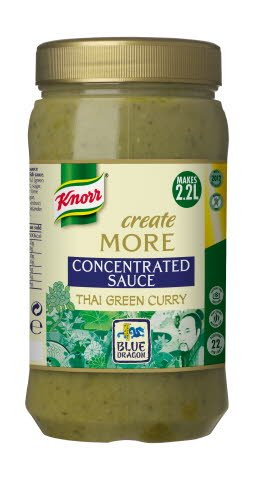 Knorr Blue Dragon Thai Green Concentrated Sauce 1.1L
