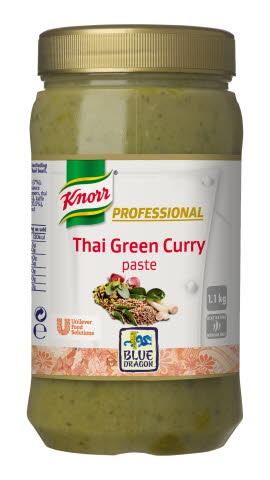 KNORR Blue Dragon Thai Green Curry Paste 1.1kg | Order a sample ...