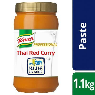 KNORR Blue Dragon Thai Red Curry Paste 1.1kg -