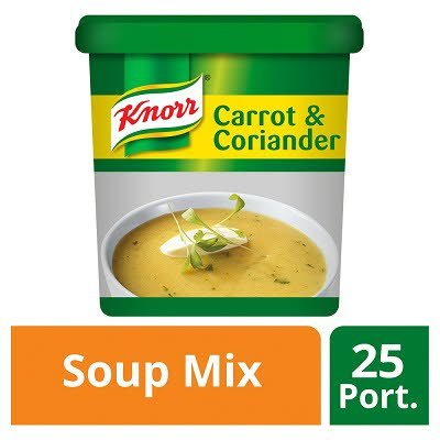 Knorr Classic Carrot & Coriander Soup 25 portions -