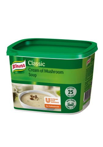 Knorr Classic Cream of Mushroom Soup 25 portions