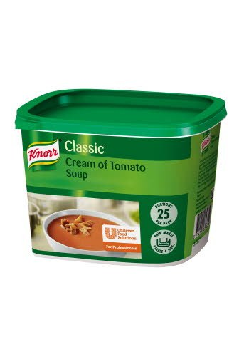 Knorr Classic Cream of Tomato Soup 25 portions