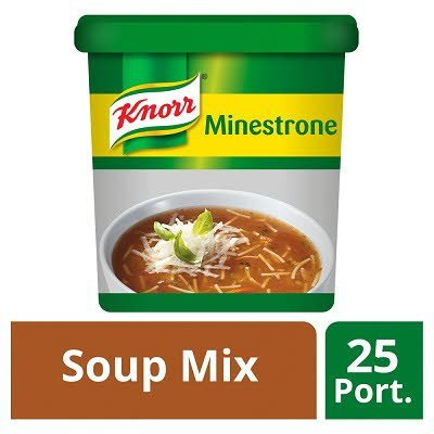 Knorr Classic Minestrone Soup 25 portions