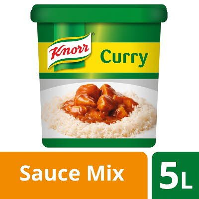 Knorr Curry Sauce Mix 5L -