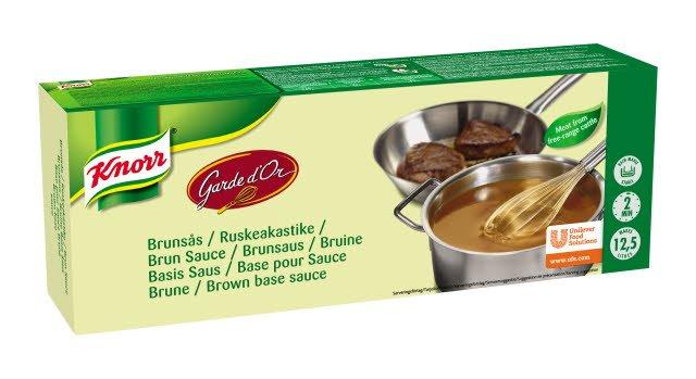 Knorr Garde d'Or Brown Sauce Base Bar 25L