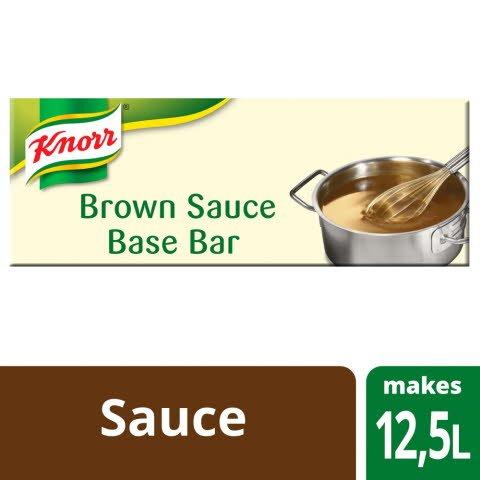 Knorr Garde d'Or Brown Sauce Base Bar 2x12.5L -