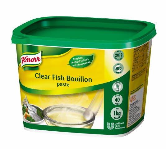 KNORR Gluten Free Clear Fish Paste Bouillon 1kg