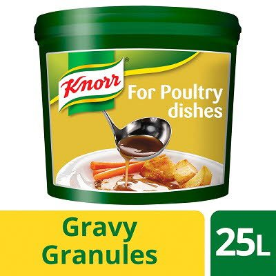 Knorr Gluten Free Gravy Granules for Poultry Dishes 25L -