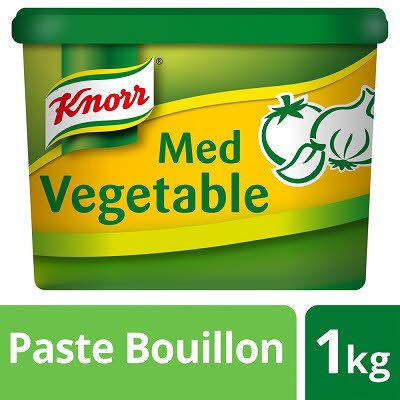 KNORR Gluten Free Mediterranean Vegetable Paste Bouillon 1kg -