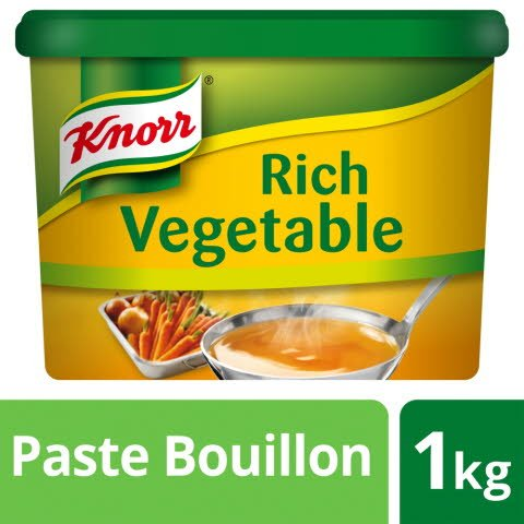 Knorr Gluten Free Rich Vegetable Paste Bouillon 1kg