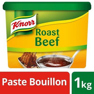 KNORR Gluten Free Roast Beef Paste Bouillon 1kg  -