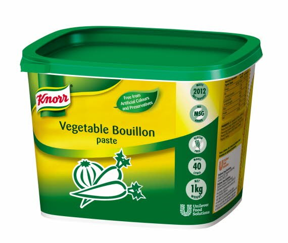 KNORR Gluten Free Vegetable Paste Bouillon 1kg