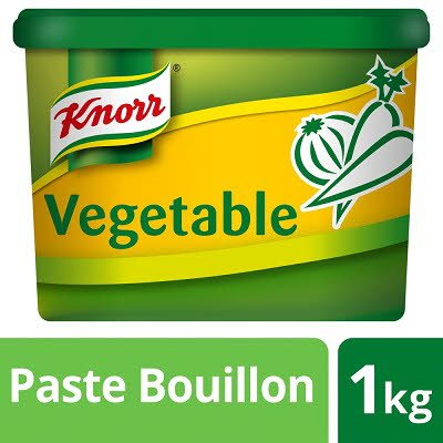 KNORR Gluten Free Vegetable Paste Bouillon 1kg -