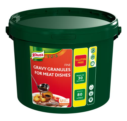 KNORR Gravy Granules for Meat Dishes 80L
