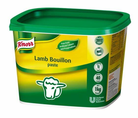 KNORR Lamb Paste Bouillon 1kg